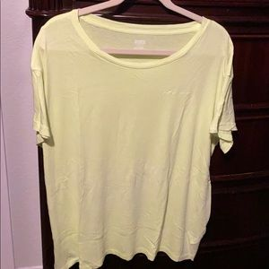 """Pink brand, Yellow, Casual, """"love pink"""" Lounge Tee"""